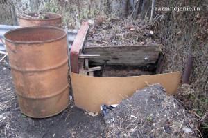 Компостная куча — экономия бюджета и средство повышения плодородия почвы
