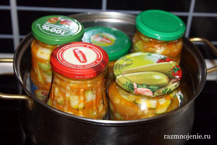 Кабачки по-корейски рецепты без стерилизации