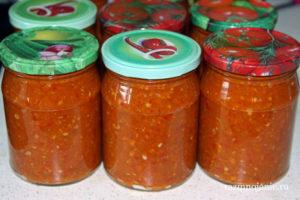 Острая аджика из кабачков — рецепт наивкуснейшей заготовки на зиму